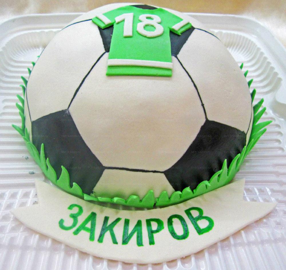 Торт в форме футбольного мяча своими руками 58
