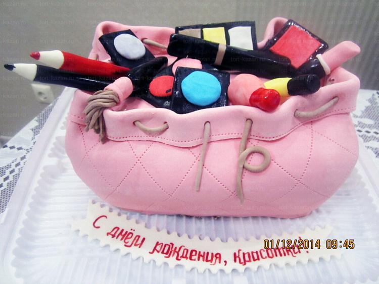 Отзыв о Торте в виде сумочки от tort-kazan.ru
