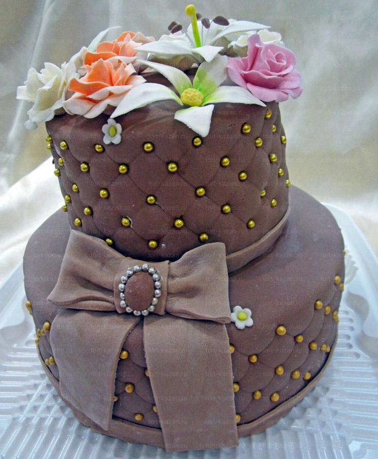 Отзыв о двухъярусном торте от tort-kazan.ru