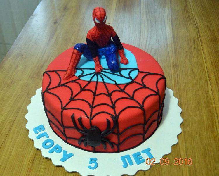 снимает трусики фото тортов с человеком пауком из мастики весь объект, как