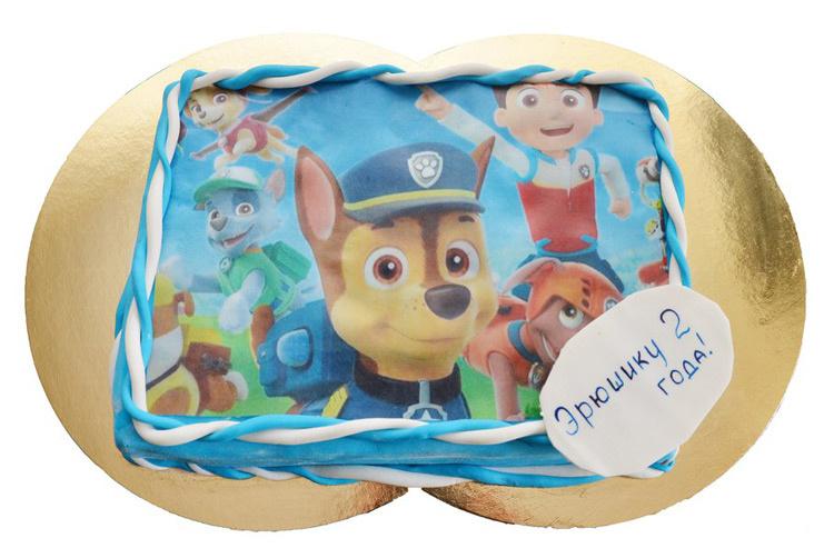 Отзыв о торте Щенячий патруль от tort-kazan.ru