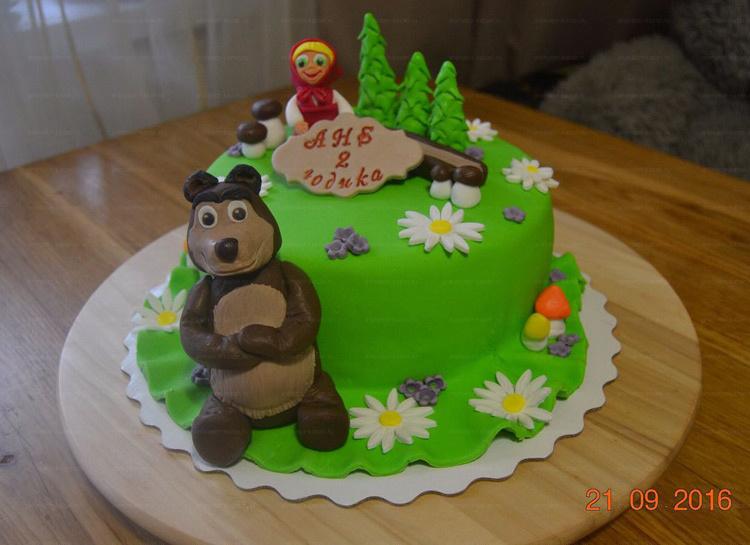 Отзыв о торте Маша и медведь от tort-kazan.ru