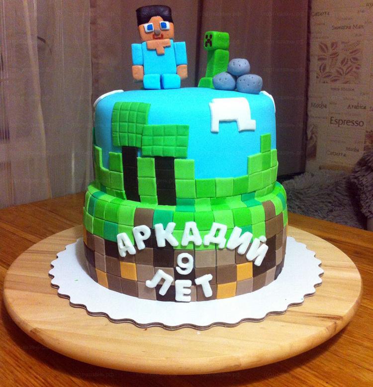 Отзыв о торте Майнкрафт от tort-kazan.ru