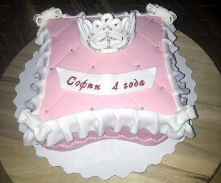 Отзыв о торте Подушечка от tort-kazan.ru