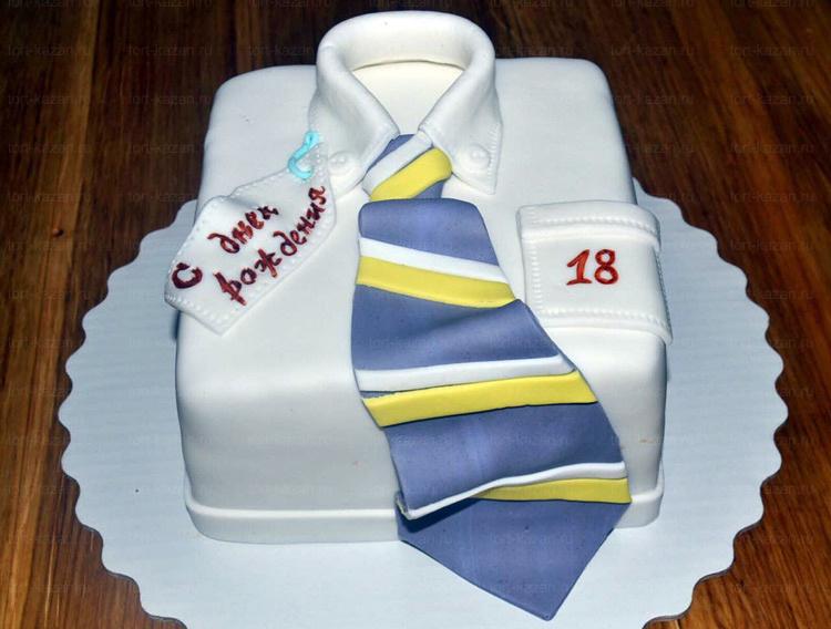 Отзыв о торте рубашка от tort-kazan.ru