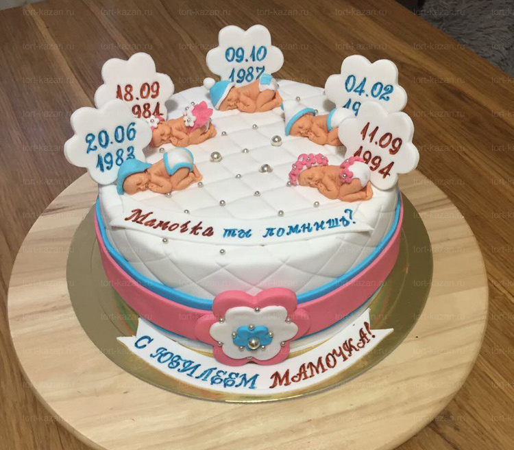 Отзыв о торте на юбилей от tort-kazan.ru