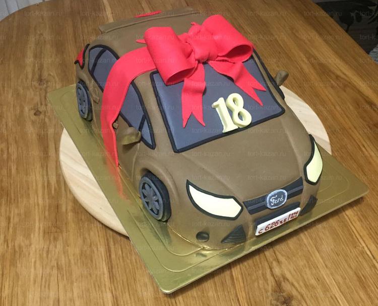 Отзыв о торте Форд от tort-kazan.ru