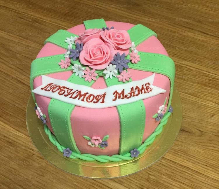 Отзыв о торте для мамы от tort-kazan.ru
