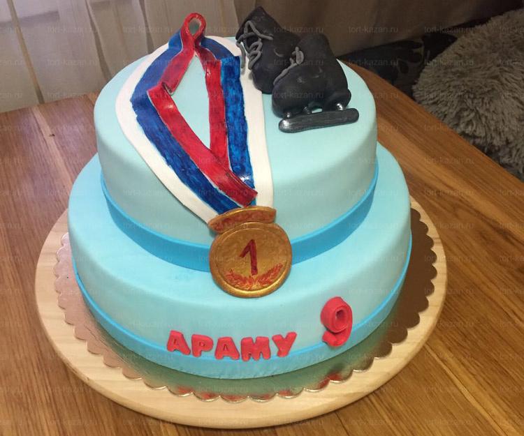 Отзыв о торте Фигурное катание от tort-kazan.ru