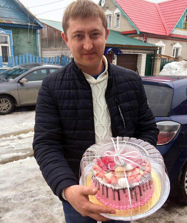 Отзыв о торте 8 марта от tort-kazan.ru