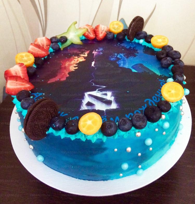 Отзыв о торте Dota от tort-kazan.ru