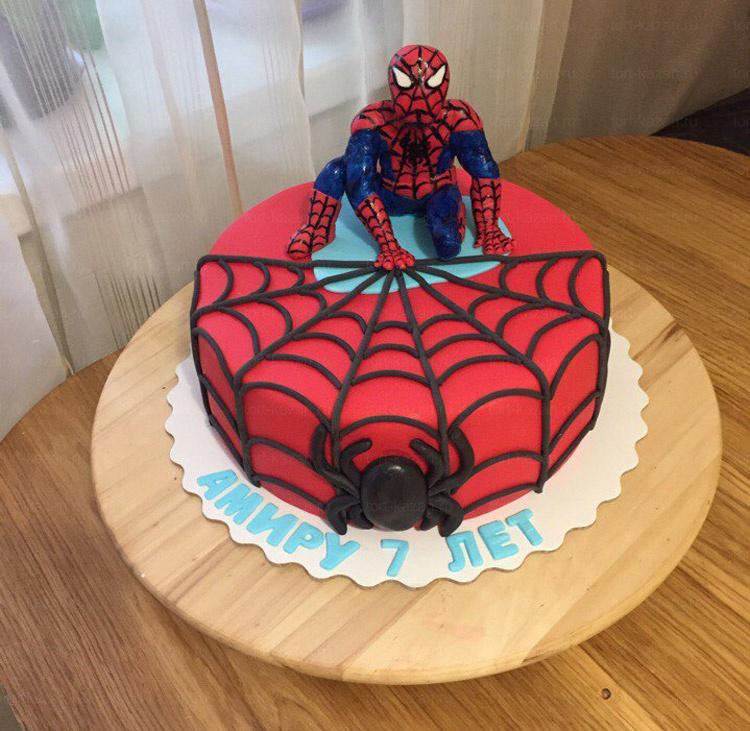 Отзыв о торте с Человеком-пауком от tort-kazan.ru
