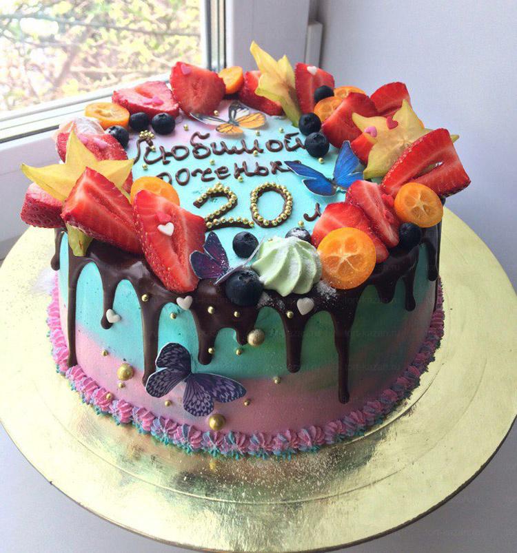 Отзыв о торте для доченьки от tort-kazan.ru