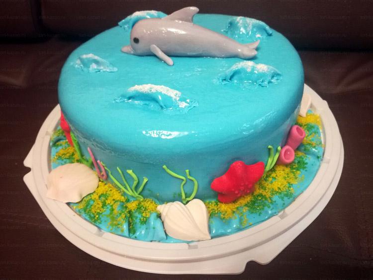 Отзыв о морском торте с дельфином от tort-kazan.ru