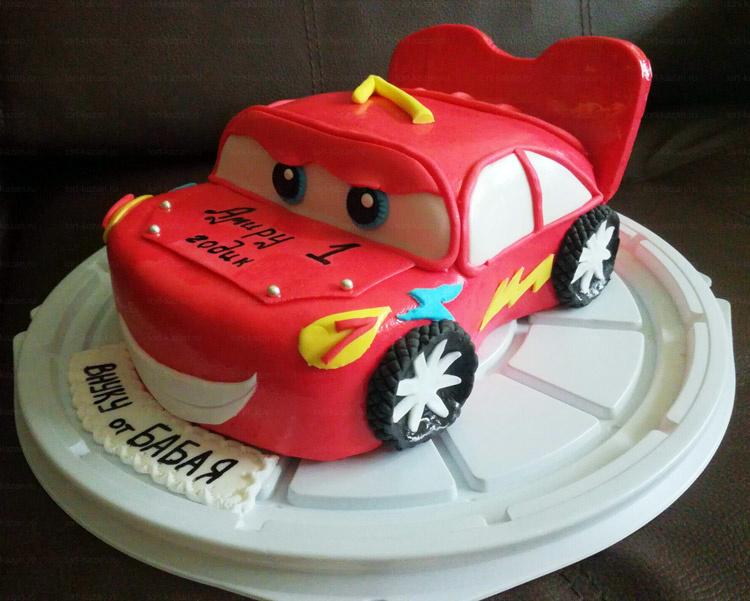 Отзыв о торте Машинка от tort-kazan.ru