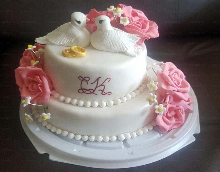 Отзыв о торте с голубями от tort-kazan.ru