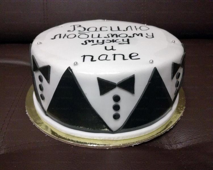 Отзыв о торте для папы от tort-kazan.ru