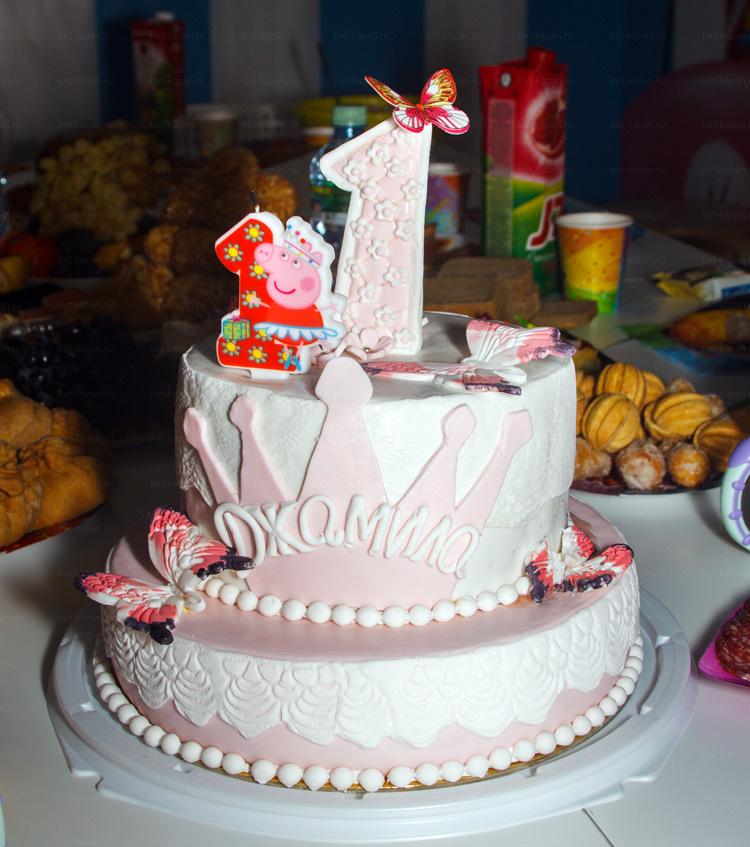 Отзыв о торте на годик от tort-kazan.ru