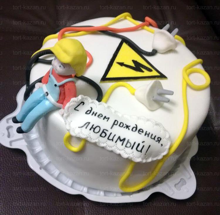 Отзыв о торте электрик от tort-kazan.ru