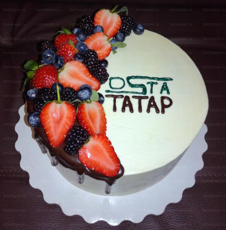 Отзыв о корпоративном торте торте от tort-kazan.ru