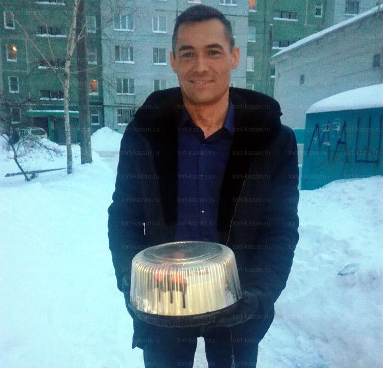 Отзыв о торте для компании от tort-kazan.ru