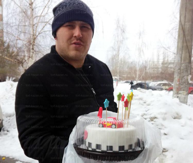 Отзыв о торте Тачки Маквин от tort-kazan.ru