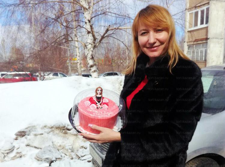 Отзыв о торте от подруги от tort-kazan.ru