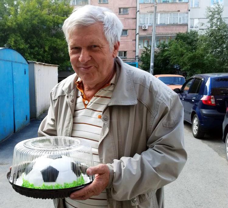 Отзыв о торте в виде мяча от tort-kazan.ru