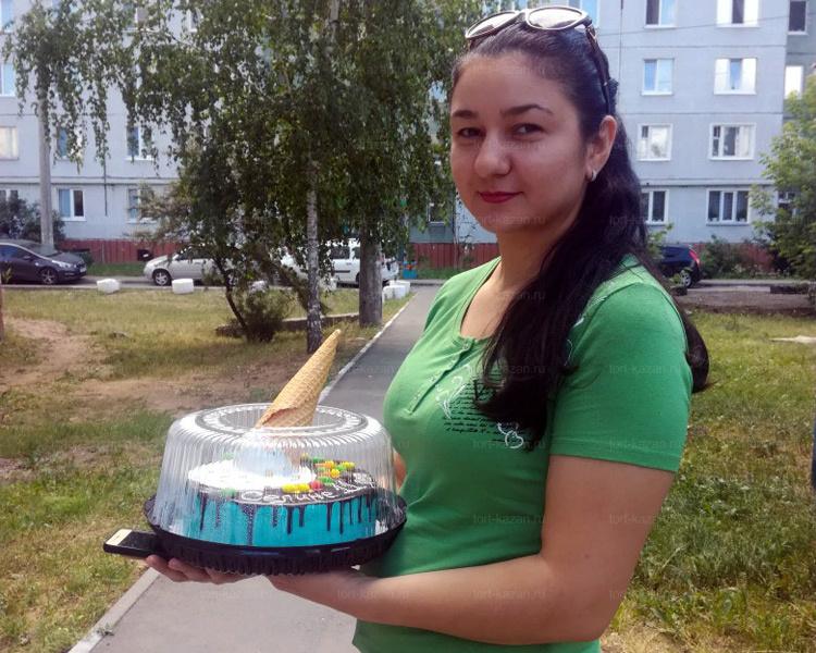 Отзыв о торте в виде Мороженое от tort-kazan.ru