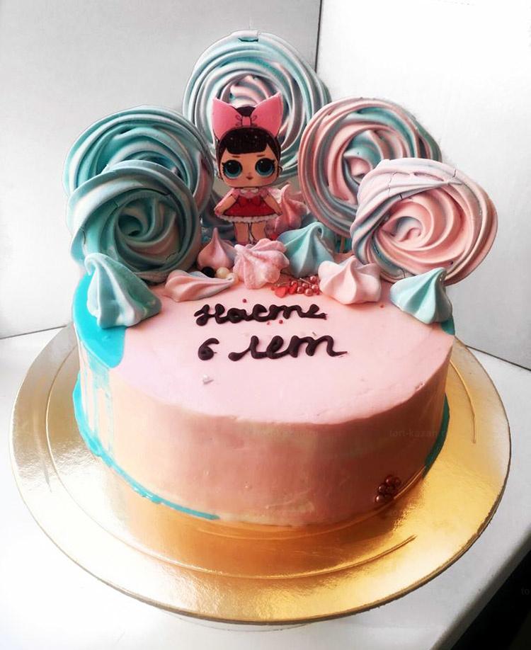 Отзыв о торте Кукла лол от tort-kazan.ru
