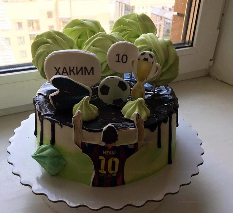 Отзыв о торте футболист от tort-kazan.ru