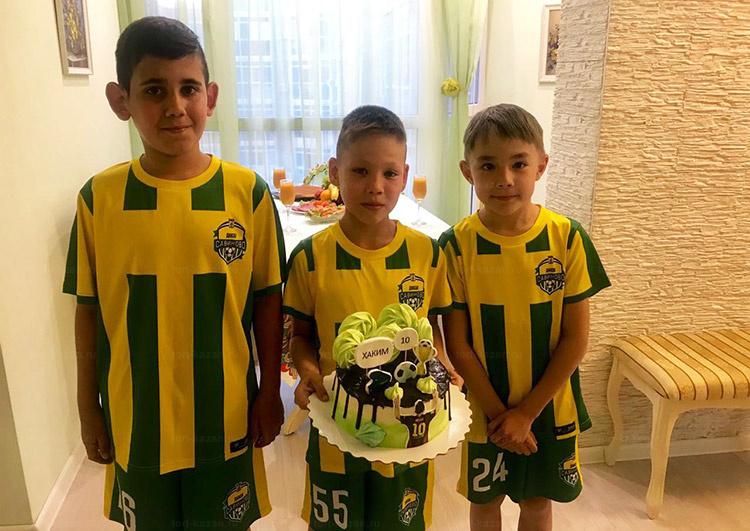 Отзыв о тортике футболиста от tort-kazan.ru