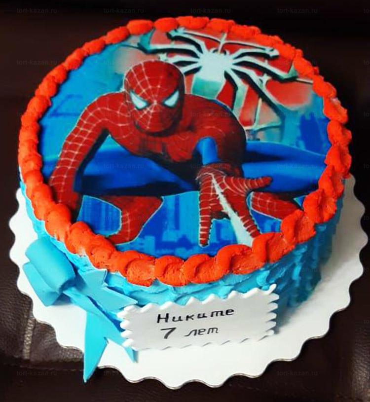 Отзыв о торте человек паук от tort-kazan.ru