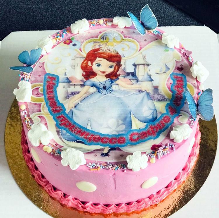 Отзыв о торте София прекрасная от tort-kazan.ru