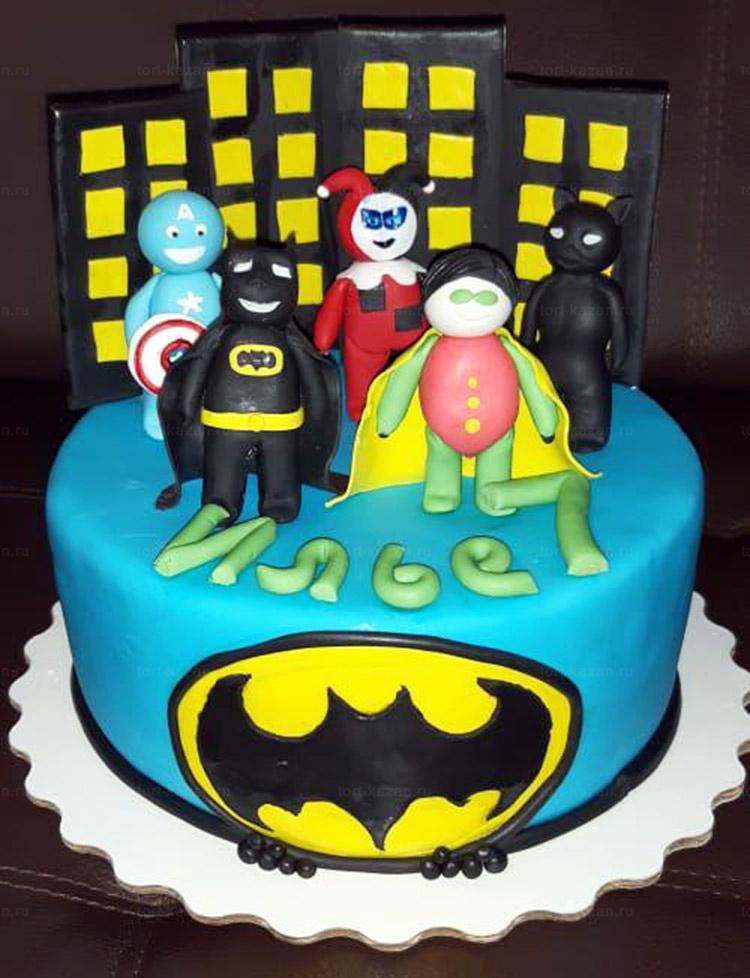 Отзыв о торте супергерои от tort-kazan.ru
