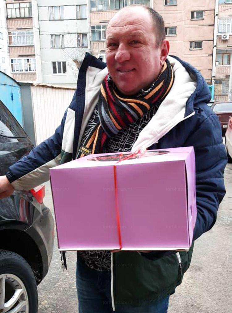Отзыв о торте ягодное настроение от tort-kazan.ru